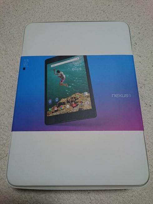 Nexus9 LTEモデル購入レビュー1 ~端末外観など~