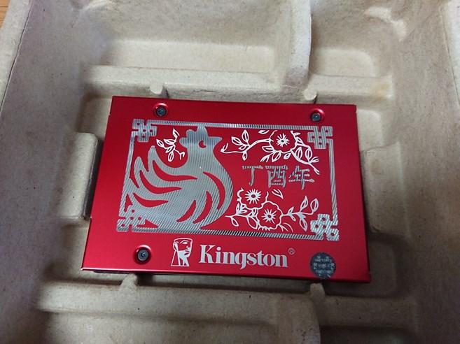 Kingston 酉年限定SSDでノートパソコンのHDDを換装