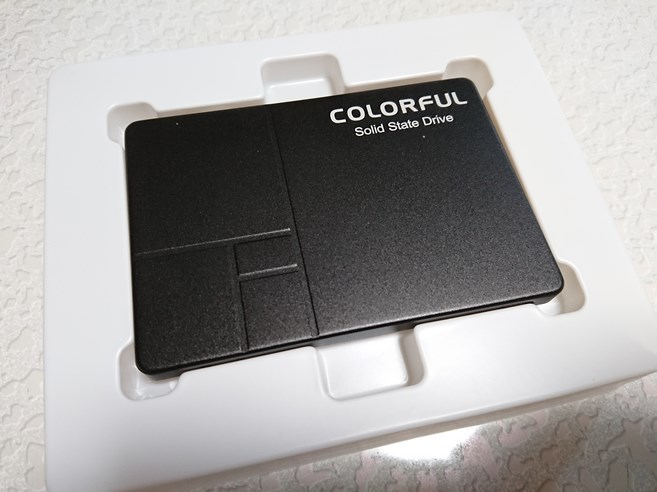 Colorful SSD SL300 160GB購入レビュー