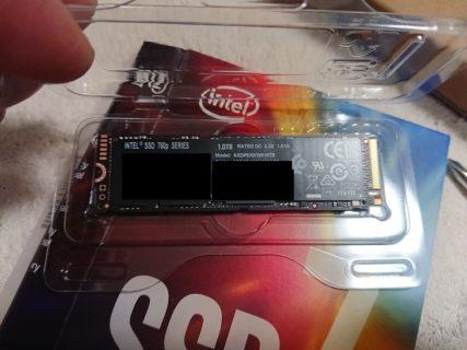 Intel SSD7 760p SERIES 1TB