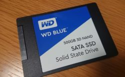 WD Blue WDS500G2B0A 3D-TLC NAND 500GB 簡易レビュー
