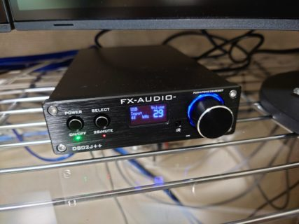 FX-AUDIO 802J++ ACアダプタ迷走記録